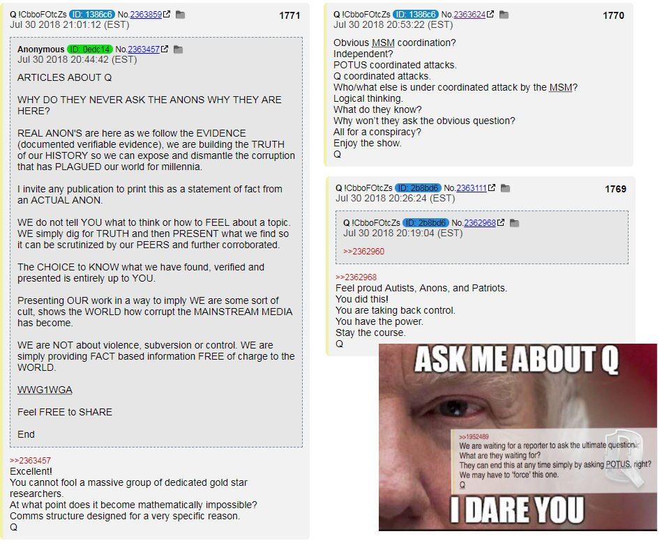 WHO IS Q, MR PRESIDENT?